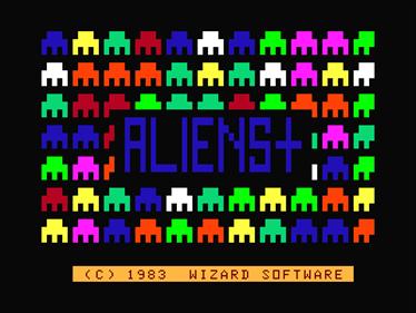 Aliens+ - Screenshot - Game Title