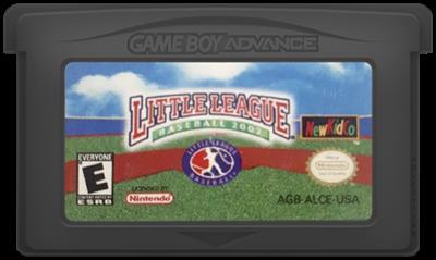 Little League Baseball 2002 - Cart - Front