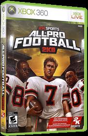 All-Pro Football 2K8 - Box - 3D
