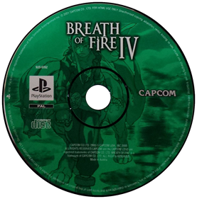 Breath of Fire IV - Disc