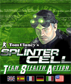 Tom Clancy's Splinter Cell: Team Stealth Action  - Screenshot - Game Title