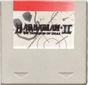 Barbarian II: The Dungeon Of Drax - Cart - Front