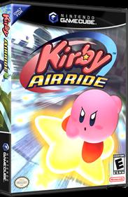 Kirby Air Ride - Box - 3D