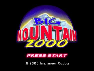 Big Mountain 2000 - Screenshot - Game Title