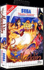 Aladdin - Box - 3D