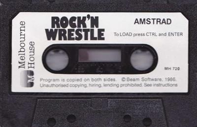 Rock 'n Wrestle - Cart - Front