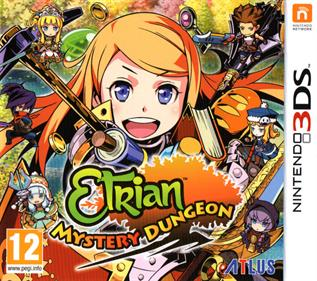Etrian Mystery Dungeon - Box - Front