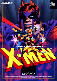 X-Men - Advertisement Flyer - Front