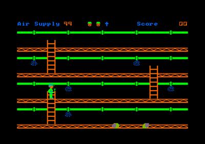 Spanner Man  - Screenshot - Gameplay