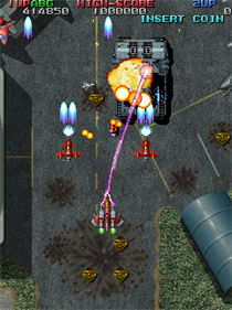 Raiden Fighters Jet - Screenshot - Gameplay
