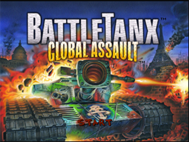 BattleTanx: Global Assault - Screenshot - Game Title