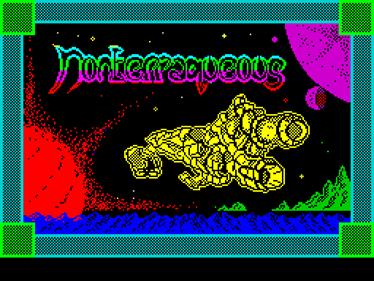 Nonterraqueous - Screenshot - Game Title