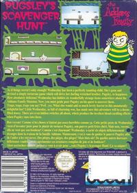 The Addams Family: Pugsley's Scavenger Hunt - Box - Back