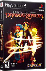 Breath of Fire: Dragon Quarter - Box - 3D