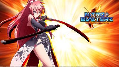 Nitroplus Blasterz: Heroines Infinite Duel - Fanart - Background