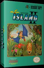 Adventure Island II - Box - 3D