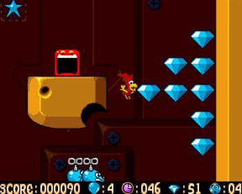 Alfred Chicken - Screenshot - Gameplay