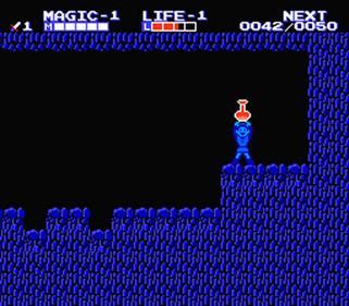 Zelda II: The Adventure of Link - Screenshot - Gameplay