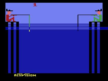 Fishing Derby - Screenshot - Game Title