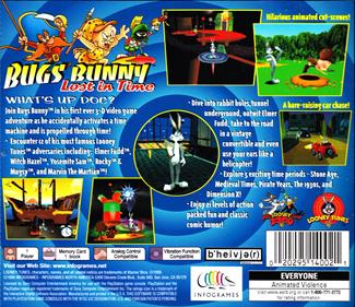 Bugs Bunny: Lost in Time - Box - Back