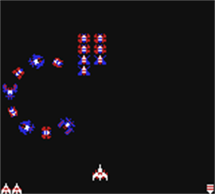 Arcade Classic 3: Galaga/Galaxian - Screenshot - Gameplay