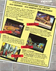 Leather Goddesses of Phobos 2: Gas Pump Girls Meet the Pulsating Inconvenience from Planet X! - Box - Back