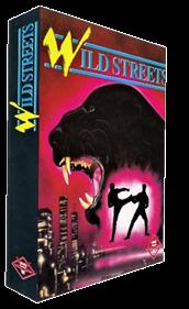 Wild Streets - Box - 3D