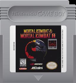 Mortal Kombat & Mortal Kombat II - Fanart - Cart - Front