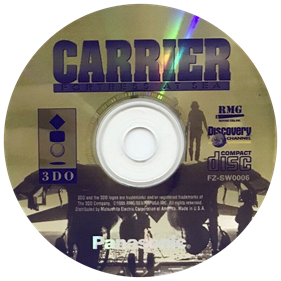 Carrier: Fortress at Sea - Disc