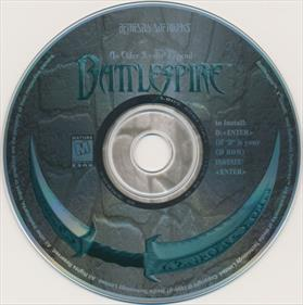 An Elder Scrolls Legend: Battlespire - Disc