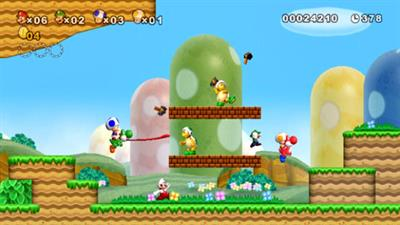 New Super Mario Bros. Wii - Screenshot - Gameplay