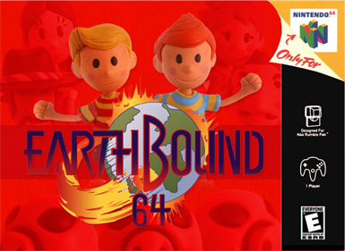 EarthBound 64: Fall of the Pig King - Fanart - Box - Front
