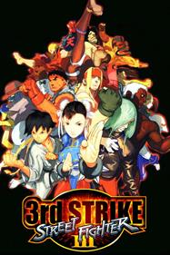 Street Fighter III: 3rd Strike: Fight for the Future - Fanart - Box - Front
