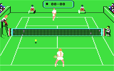 Jimmy Connors Pro Tennis Tour - Screenshot - Gameplay