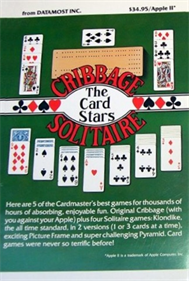 The Card Stars: Cribbage / Solitaire