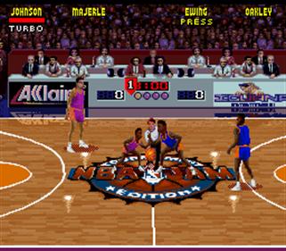 NBA Jam Tournament Edition - Screenshot - Gameplay