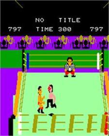 Pro Wrestling - Screenshot - Gameplay