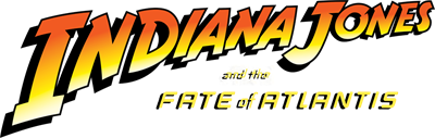 Indiana Jones and the Fate of Atlantis - Clear Logo
