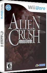 Alien Crush Returns - Box - 3D
