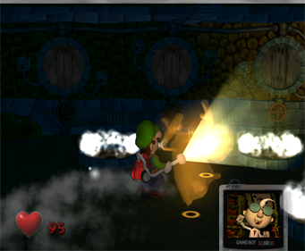Luigi's Mansion - Screenshot - Gameplay