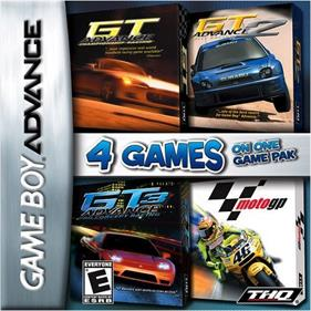 4 Games on One Game Pak: GT Advance / GT Advance 2 / GT Advance 3 / MotoGP