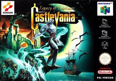 Castlevania: Legacy of Darkness - Box - Front
