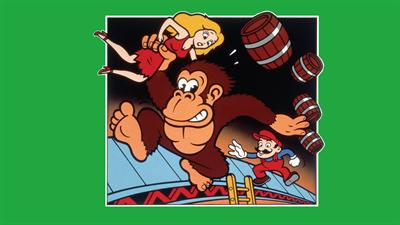 Donkey Kong (Atarisoft) - Fanart - Background