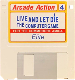 James Bond 007: Live and Let Die: The Computer Game - Disc