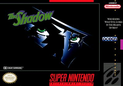 The Shadow - Fanart - Box - Front