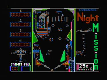 Night Mission Pinball - Screenshot - Gameplay