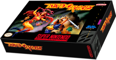 Kendo Rage - Box - 3D