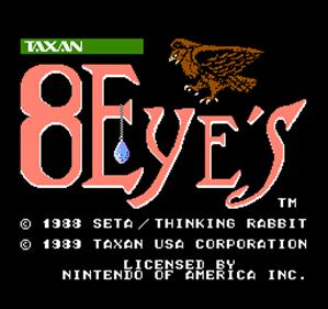 8 Eyes - Screenshot - Game Title