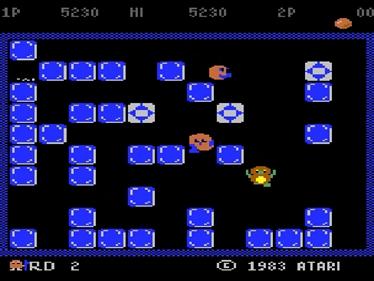 Pengo - Screenshot - Gameplay
