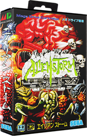 Alien Storm - Box - 3D